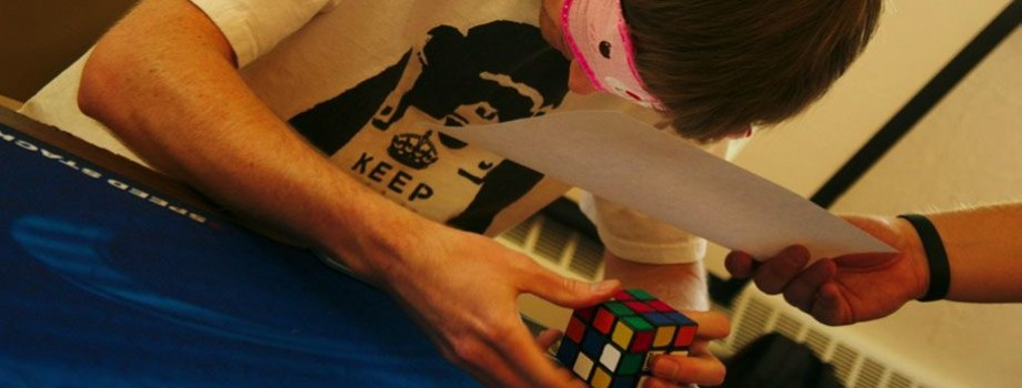 Blindfolded Rubik's Cube